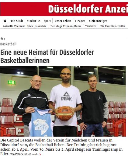 Heute im Düsseldorfer Anzeiger