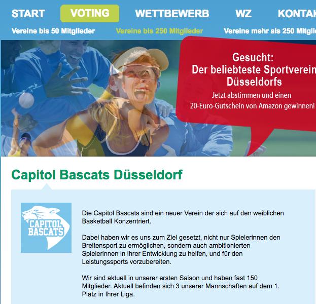 """Wichtig!!! Wir sind im Finale beim """"Top in Düsseldorf"""" Voting"""
