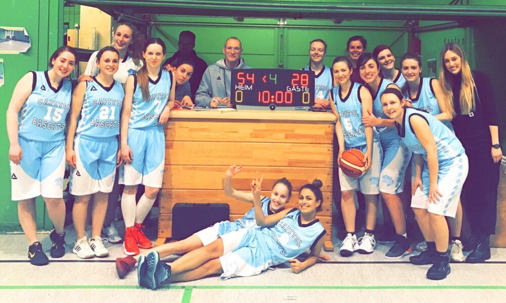 Damen 3 gewinnen gegen Wülfrath – Tifany makes the difference