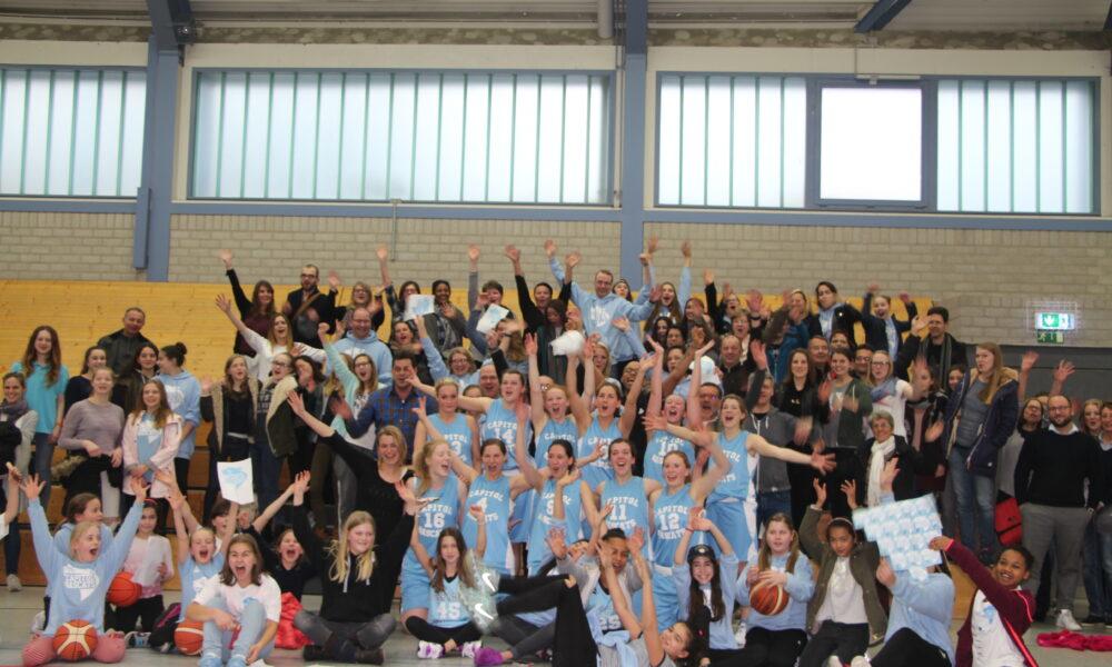 Capitol Bascats Damenmarschieren Richtung Landesliga