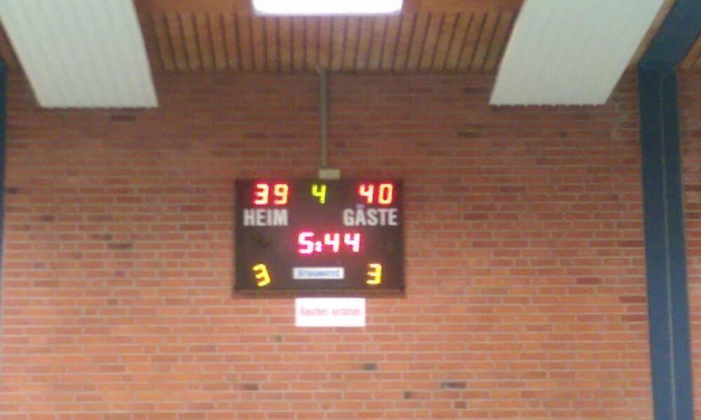 Erster Sieg der Damen 2 im Bezirksliga Debut