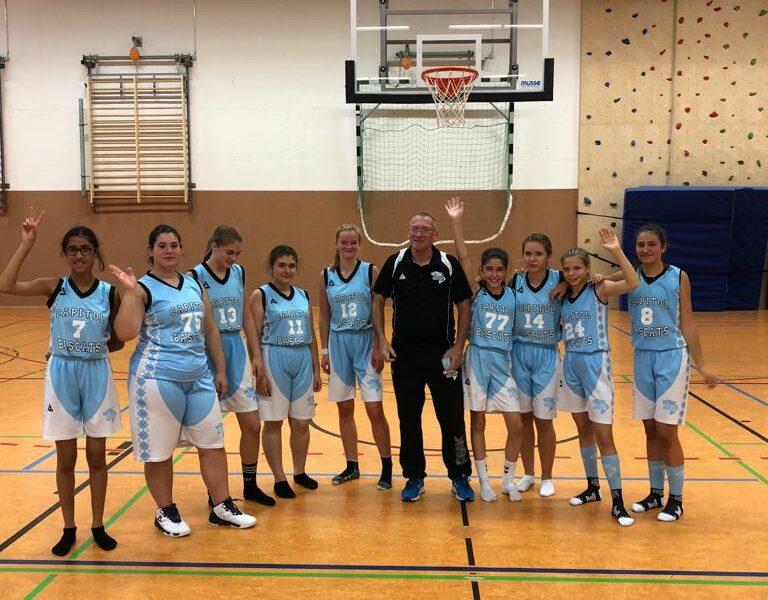Die neue U16w1 startet mit einem Heimsieg gegen Baskets Duisburg 2 in die Saison
