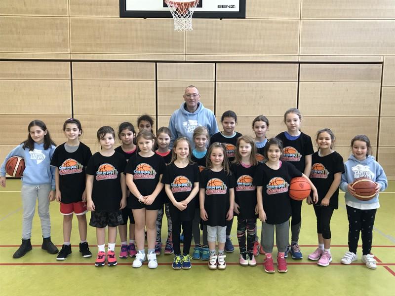 """10.02.2019 Talentsichtung """"Basketball für Mädchen"""""""