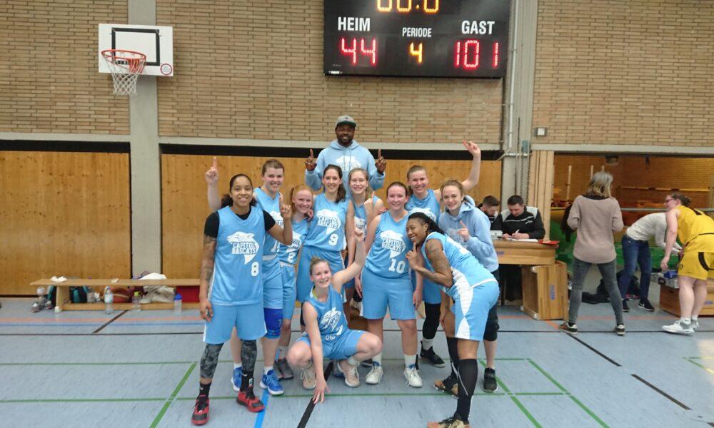 Capitol Bascats Damen steigen in die Regionalliga auf