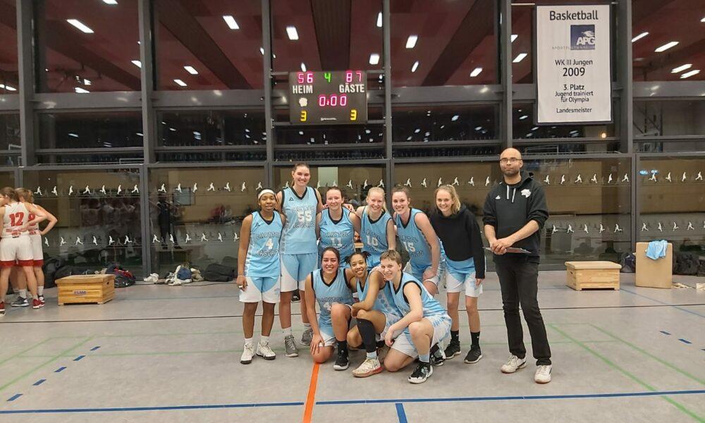 Damen 2 gegen Rheinstars Köln 2
