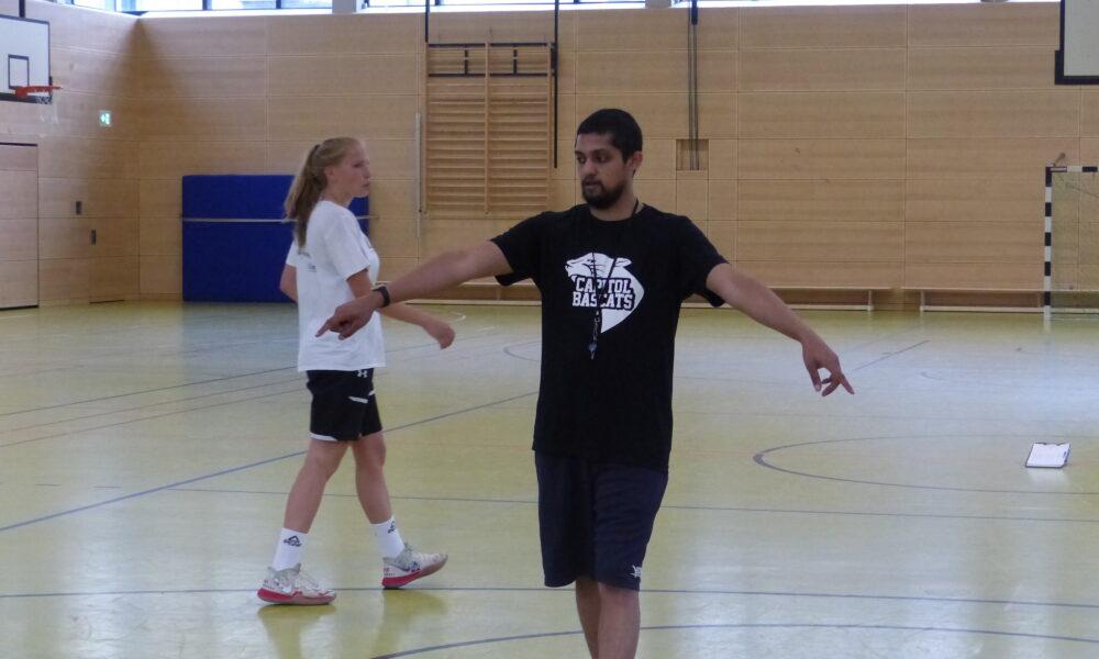 Training der 2. Damenmannschaft