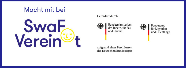 (SwaF) Verein(t) – Start with a Friend