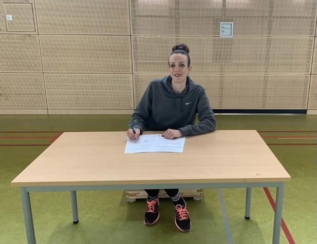 Ab der Saison 2021/2022 spielt Britta Worms bei den Bascats