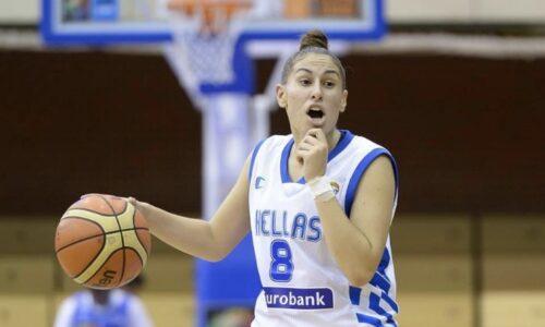 Griechische Nationalspielerin Evegenia Kollatou kommt zu den Bascats