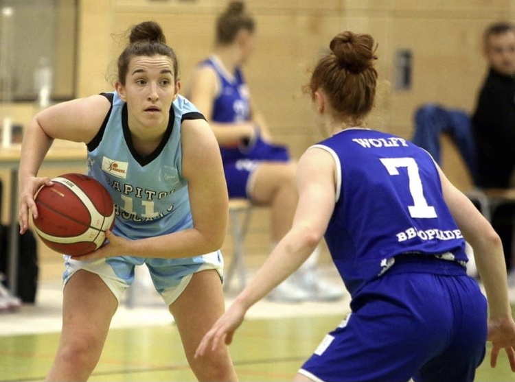 Iva Banozic wird auch in der Damen-Bundesliga für die Capitol Bascats starten